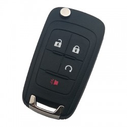 Chevrolet - Chevrolet Camaro 4 Buttons Remote Key (315 Mhz, ID46, Original)