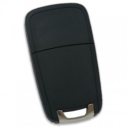 Chevrolet - Chevrolet 3 Button Flip Remote Key (Original) (Witte 13500219, 433 MHz, ID46) (1)