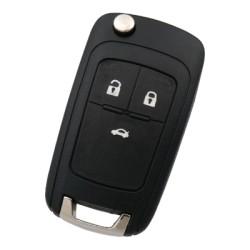 Chevrolet - Chevrolet Cruze 3 Buttons Remote Control (Original) (VAST13587614, 433 MHz, ID46, Handsfree)