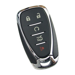 Chevrolet - Chevrolet HU100 Remote key shell with 4+1 buttons