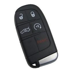 Chrysler - Chrysler Jeep Dodge Smart Key 4+1 buttons 433Mhz PCF7953A