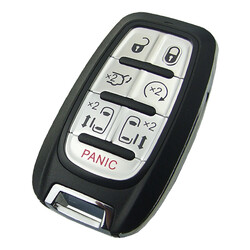 Chrysler - Chrysler Jeep Dodge Smart Remote Key 6+1 buttons 433Mhz 2017-2020 Pacifica and 2020 Voyager