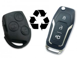 Ford - FOCUS FEISTA MONDEO, S-MAX Remote Control (Before 2011 ), without Transponder (AfterMarket) (433 MHz)