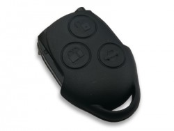 Ford - Ford Transit Connect Key Shell 3 Button Black without Logo Place