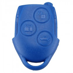 Ford - Ford 3 Button Blue Remote Key (aftermarket, 433 MHz, ID63)