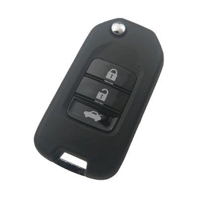 Honda 3 Buttons Remote Control Vezel, Xrv, Jazz 2014/2015, 433 Mhz (Aftermarket)