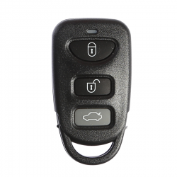 Hyundai - Hyundai 3 Button Key Shell
