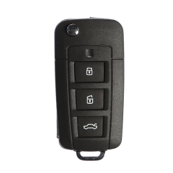 Hyundai - Hyundai 3 Buttons modified flip key shell