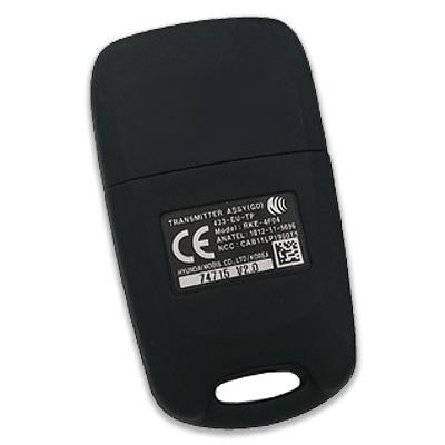 Hyundai i30 3 Buttons Flip Remote Key 2012+ (Original) (RKE-4F04, 433 MHz, ID60 80 Bit)