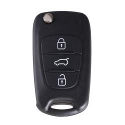 Hyundai - Hyundai Flip Remote Shell 3 Buttons