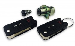 Jeep - Jeep Lock Sets with 2 Pieces Flip Remote