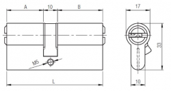 Kale Cylinder 68 mm 164BNE - Thumbnail