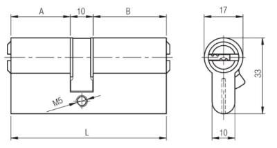 Kale Cylinder 68 mm 164BNE