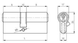 Kale Cylinder 76 mm 164GNC90 - Thumbnail