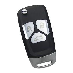 Keydiy - KD Flip Remote 3 Buttons Small Size NB27-3