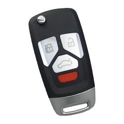 Keydiy - KD Flip Remote 3 Buttons Small Size NB27-3+1
