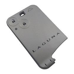 Renault - Laguna 2 Button Smart Card Shell