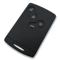 Ren - Megane 3, Laguna, Scenic, Fluence Handsfree 4 Buttons Smart Card (AfterMarket) (433 MHz)