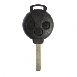 Smart - Mercedes Smart 3 Buttons Key Shell