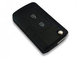 Mitsubishi 2 Buttons Modified Flip Key Shell - Thumbnail