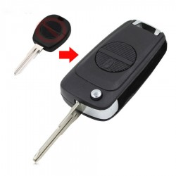Nissan - Nissan 2 Buttons Modified Flip Key Shell