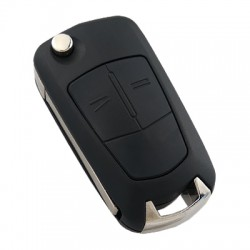 Opel Astra H - Zafira B 2 Button Remote Key (AfterMarket) (433 MHz, ID46) - Thumbnail