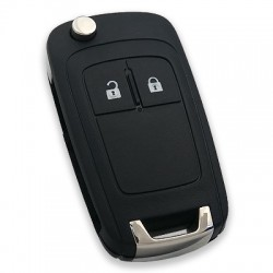 Opel Astra-J insignia 2 Button Flip Remote Key (AfterMarket) (GM 13574868, 433 MHz, ID46) - Thumbnail