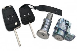 Opel - Opel Astra J Lock Set