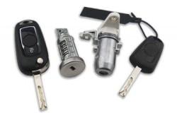 Opel Astra K Lock Set 1 Flick blade, 1 Normal Remote key (Original) (39089963, 433 Mhz, ID46) - Thumbnail