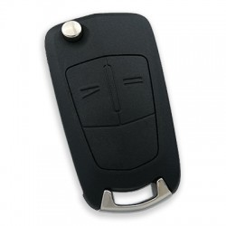 Opel Corsa D 2 Button Remote Key (Aftermarket) (Delphi 13.188.284, 433 MHz, ID46) - Thumbnail