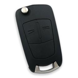 Opel Corsa D 2 Button Remote Key (Aftermarket) (Delphi 13.188.284, 433 MHz, ID46) - Thumbnail