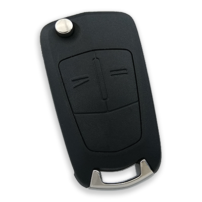 Opel Corsa D 2 Button Remote Key (Aftermarket) (Delphi 13.188.284, 433 MHz, ID46)