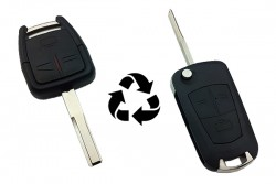 Opel - Opel Vectra-C Modified Flip Key Shell