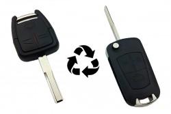 Opel - Opel Vectra-C Modified Flip Key Shell