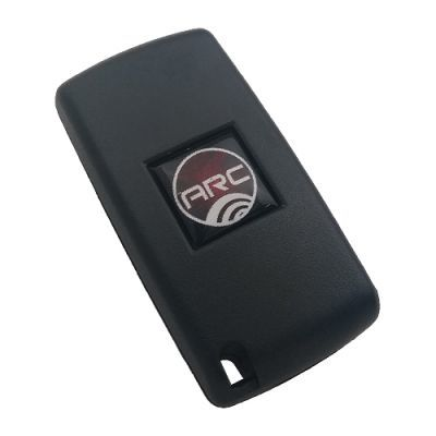 Peugeot Flip Remote Shell 2 Button with battery location