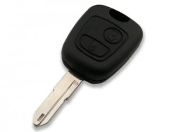 Peugeot 206 Remote Control (AfterMarket) (433 MHz, ID46) - Thumbnail
