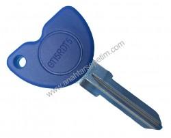 Piaggio - Piaggio Silca Motocycle Key