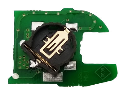 Renault 1 Button Repairment Board