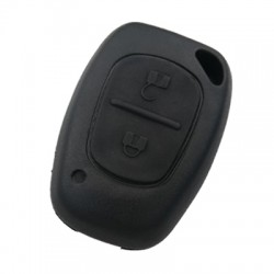 Renault - Renault 2 Button Remote Key (AfterMarket) (NE73 or VAC102, 433 MHz, PCF7946)