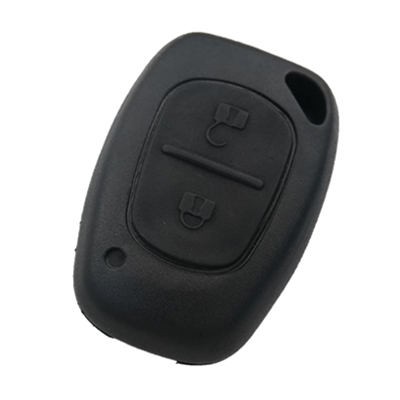 Renault 2 Button Remote Key (AfterMarket) (433 MHz, PCF7946)