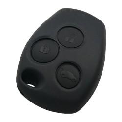Renault - Renault 3 Button Remote Key (AfterMarket) (NE73 or VAC102, PCF7946, 433 MHz)