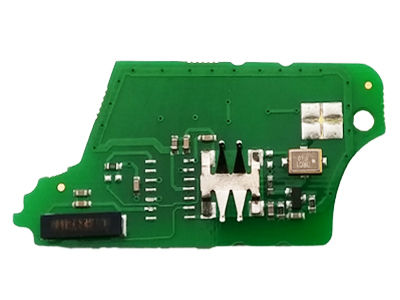 Renault 3 Buttons Repairment Board to change the remote to Flip Key