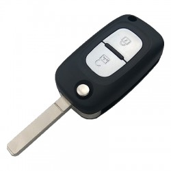 Renault Clio3 Flip Key (Board is Original)) (433 MHz, PCF7961) - Thumbnail