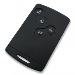RENAULT Clio 4, Captur, Symbol 4 Buttons Handsfree Smart Card (AfterMarket) (433 MHz, AES PCF7939 ID47) - Thumbnail