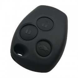 Renault - Renault Clio3 Dacia Dokker 3 Buttons Remote Key (HU179 or VA2 Key Blade) (Board is Original) (433 MHz, ID47)