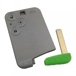 Renault - Renault Espace 3 Buttons Smart Key Shell