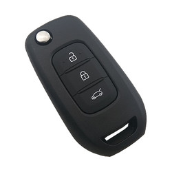 Renault - Renault Key Shell 3 Buttons White