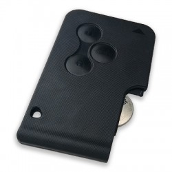 Ren - Ren Megane 2, Scenic - 3 Button Smart Card without Logo (AfterMarket) (433 MHz,)
