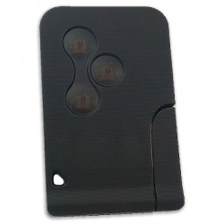 Renault - Renault Megane 2, Scenic - 3 Button Smart Card (AfterMarket) (433 MHz, PCF7947) (No Logo)