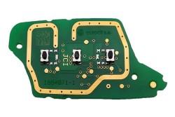 Renault - Renault Megane3 - Fluence 3 Buttons Remote Board (Original) (433 MHz)